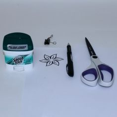 How to create a stencil for henna tattoos. Clear deodorant, ballpoint pen, and printer paper.