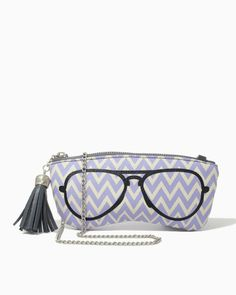 charming charlie | Chevron in Sight Sunglasses Case | UPC: 410006438743 #charmingcharlie
