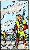 Five of swords  Upon emerging from the rest of the Four we find ourselves back in the thick of conflict on the Five of Swords. The image on the Rider-Waite and its many variants is that of a victorious man and two defeated opponents, and in this symbolism we see more of the typical duality of the Swords suit. When this card appears it usually means that you are defeated -cheated out of victory by a vily and cunning opponent. But sometimes you are that victor, the one who has defeated your…