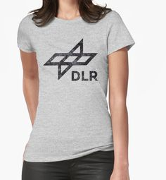 """Black Vintage German Space Agency"" T-Shirts & Hoodies by Lidra 