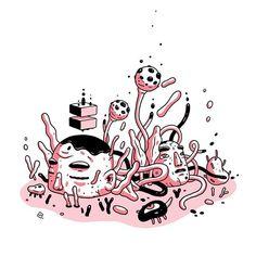 ✏️#17 #version #doodle #drawing #sketchbook #dailysketch #illustration #wacom #digitalart #fantasy #artwork #イラスト #メカ #くま #お絵かき #クール