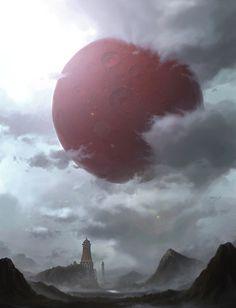 Red Moon by Yongsub Noh YONG