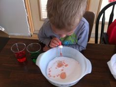 Simple Science for toddlers and preschool aged kids: Baking Soda and Vinegar...so easy and so fun!