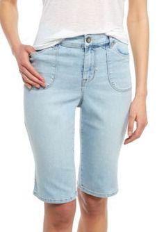 Nine West Jeans  Hallie Bermuda Shorts