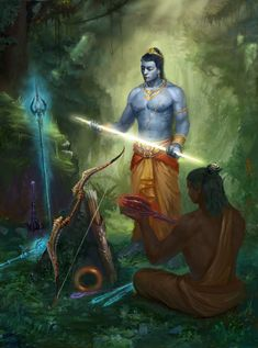 The divine beauty of Shree ram. His body was the form of endless blue sky . Hindu Art, Arte Krishna, Rama Lord, Lord Rama Images, Lord Hanuman Wallpapers, Shri Hanuman, Lord Shiva Family, Lord Shiva Painting, Dark Fantasy