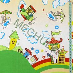 Mechulka - dětská metráž - bavlna