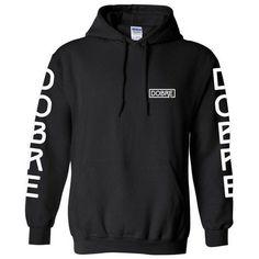 Lucas Marcus Dobre Hoodie ($40) ❤ liked on Polyvore featuring tops, hoodies, hooded sweatshirt, hooded pullover, hoodie top and sweatshirt hoodies