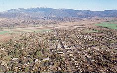 Aerial view of San Jacinto taken in the San Jacinto California, Child Hood, Aerial View, City Photo, Earth, Baby, Outdoor, Outdoors, Baby Humor