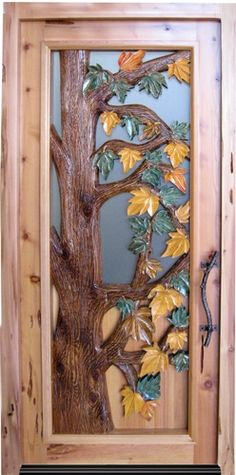 Love hand carved doors