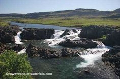 The Glanni Waterfall on the Norðurá River is said to be the dwelling place of elves and trolls. However, during our visit, we noticed that this waterfall was situated near a golf course nearby an. West Iceland, Iceland Waterfalls, Lava Flow, Elves, Troll, Paths, Outdoor, Outdoors, Outdoor Games
