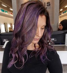 Purple hair don't care 💁🏼‍♀️ hair x from Genesis Webb Gin Mermaid Hair, Purple Hair, New Trends, Salons, Georgia, Hair Care, Hair Color, Dreadlocks, Long Hair Styles