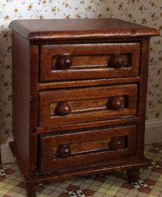 Spice Single dresser [A231.5] - $10.99 : My Favorite Dollhouse, Half Inch Scale Miniatures