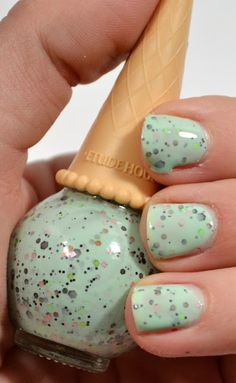 Making Up the Midwest: Review & Swatchfest: Etude House Sweet Recipe Ice Cream Nail Polish