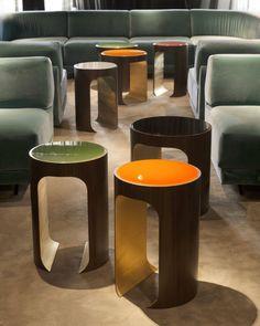 Les tables d'appoint Buci sont nées sous le trait de crayon de Thierry Lemaire