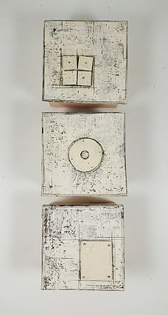 Middle Round by Lori Katz (Ceramic Wall Sculpture) | Artful Home Ceramic Tile Art, Ceramic Studio, Ceramic Artists, Space Shows, Media Wall, Black And White Lines, Paint Finishes, Minimalist Art, Wall Sculptures