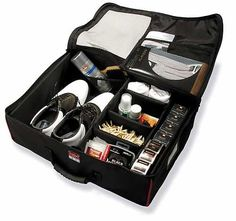 Trunk-It Golf Gear Organizer Case Black - http://www.golfhq.com/golf-gifts/gifts-25-50/trunk-it-golf-gear-case.html