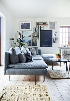 Appunti di casa: Home tour: scandinavian energy
