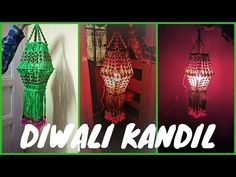 Simple Diwali Kandil made from Macramé Diwali Special - YouTube