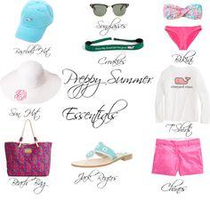 Preppy Summer Beach Accessories
