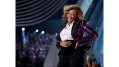 "Made You Look: Beyoncé's Biggest Surprise Moments | That Bump, Bump, Bump After walking the 2011 VMAs red carpet looking a bit heavy in the belly, Beyoncé performed ""Love on Top"" wearing a sequined magenta jacket with a white collared shirt and black pants. Sure, it all looked like part of her coordinated act until she unbuttoned that blazer at the end of her performance and revealed one hell of a baby bump. Four months and some change later, she gave birth to none other than Blue Ivy…"