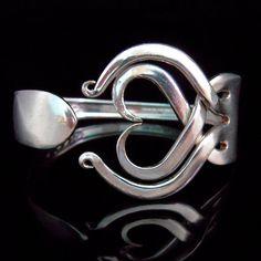 Hochzeit Schmuck recycelten Gabel Armband von MarchelloArt auf Etsy