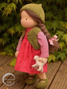 """16"""" Traditional Waldorf Doll by Waldorfdollshop   by Waldorfdollshop"""