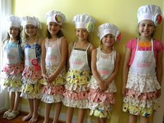 """Great baking """"cake boss"""" party...so many ideas to tweak for older girls too!"""