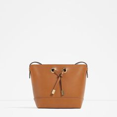 e1f6f75d4b53 CROSS BODY BAG WITH GOLD HARDWARE Zara Official Website