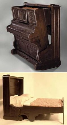 Piano guest bed