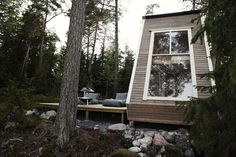 Tiny 'Nido' Micro Cabin in Finland Woods by Robin Falck