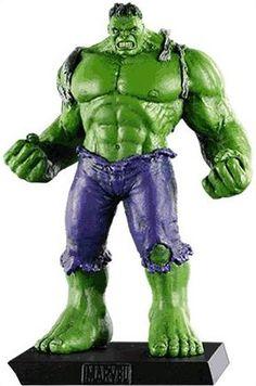 Eaglemoss Marvel Comics Hulk Green Lead Figurine