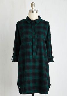 $45 You Camp Do It! Tunic in Forest