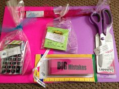 Need some ideas for Teacher Appreciation Week?  Inexpensive (Dollar Tree!) and fun!