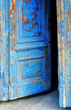 Image detail for -Old Wooden Door With Aged Paint Texture Royalty Free Stock Photo ...