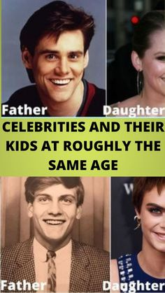 #CELEBRITIES AND THEIR KIDS AT #ROUGHLY THE #SAME AGE