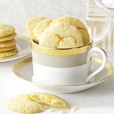 Orange & Lemon Wafer Cookies Recipe from Taste of Home