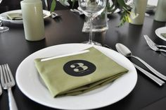 Table number napkins!