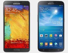 Vergelijking Samsung Galaxy Note 3 vs Samsung Galaxy Mega | Versus OS
