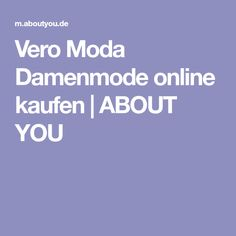 Vero Moda Damenmode online kaufen | ABOUT YOU