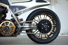 Roland Sands bike for Mickey Roarke