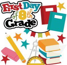 104 best clip art school images on pinterest clip art school rh pinterest com first day of school clipart black and white first day of high school clipart