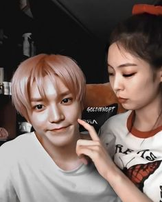Kpop Couples, Cute Couples, Ulzzang Couple, Nct Taeyong, Cute Faces, Nct Dream, Couple Goals, Besties, Cool Pictures