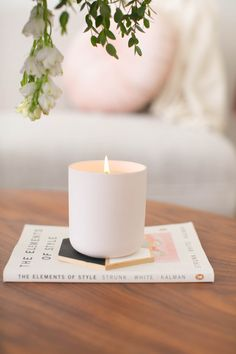 Terrific Photos Soy Candles photography Ideas Thinking about the concept of to become a wax luminous intensity unit producer and doing wax luminou Modern Candles, Unique Candles, Luxury Candles, Beautiful Candles, Best Candles, Decorative Candles, Pink Candles, Soy Candles, Scented Candles