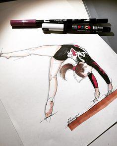 #carlottaferlito #gym #artist #love #gymanst #gymnastic #beam #gym #gymdraw #gymnast #gymnastic #leotard #teamitaly #italy #francy #gym #love #colors #beam #pantone #beam #body #balancebeam #draw #drawing #paint #painting #promarker #gymnast #gymnastic #sketch #art #gymnastdraw #gymnastpaint