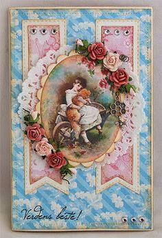 Bodils hobbyblogg Atc, Cardmaking, Cards, Handmade, Painting, Making Cards, Hand Made, Painting Art, Paintings