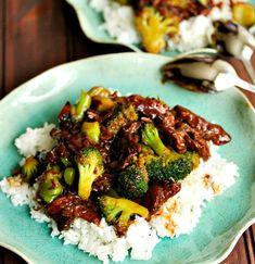 Beef with Broccoli (Crockpot) #Beef #Broccoli