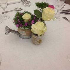 Centre de table champetre
