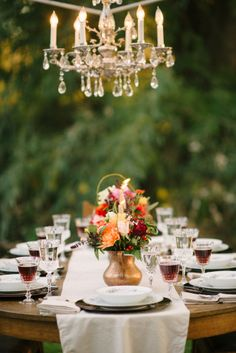 Wilton Photography | Dinner Party | Table Setting