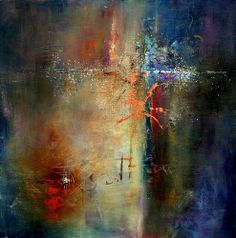 abstract painting by jeanne bessette