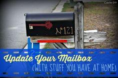 Castle DIY: Tackling the To Do List: Mailbox Makeover